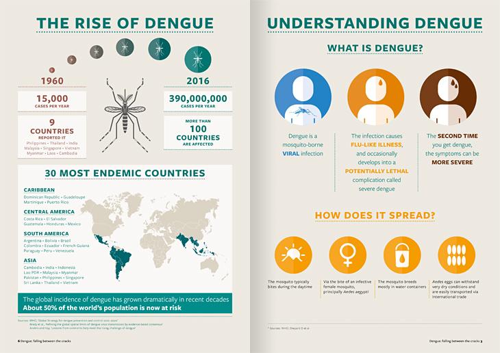 Malaria Consortium Infographics Design