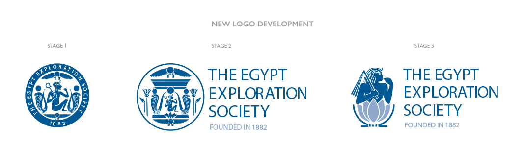 Egypt Exploration Society New Logo Development