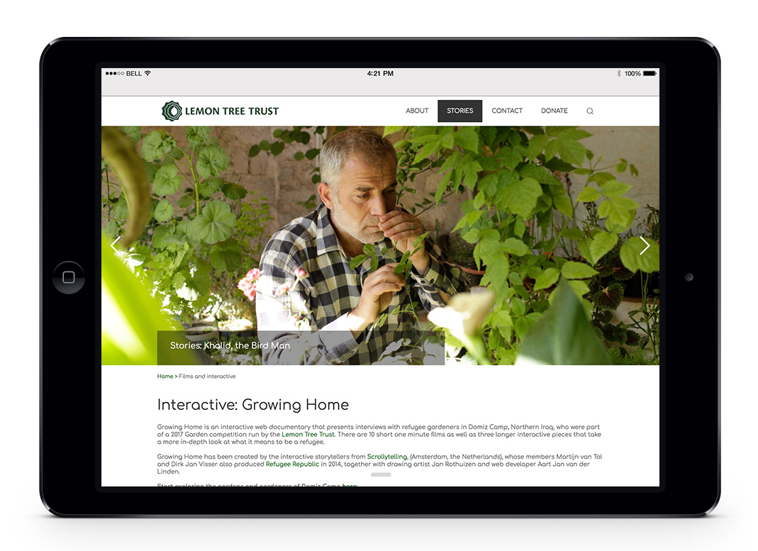 Lemon Tree Trust Website and Online