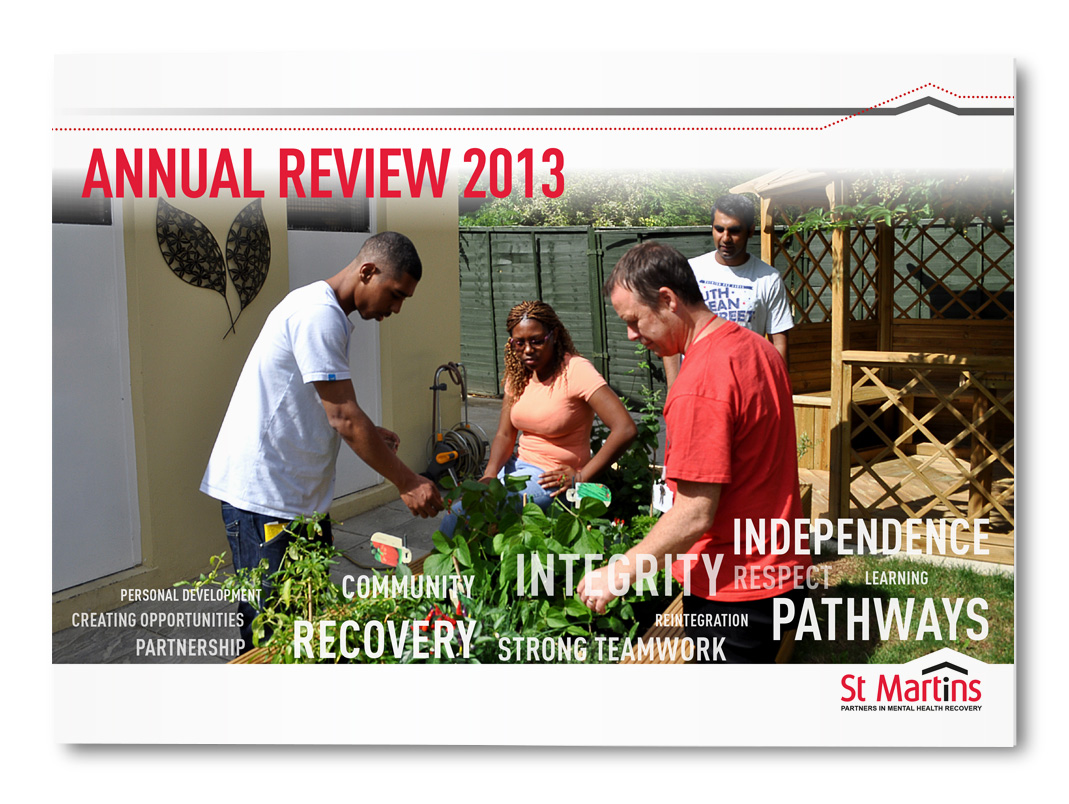 St Martin's Annual Review 2013