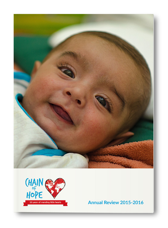 Chain of Hope Annual Review 2016