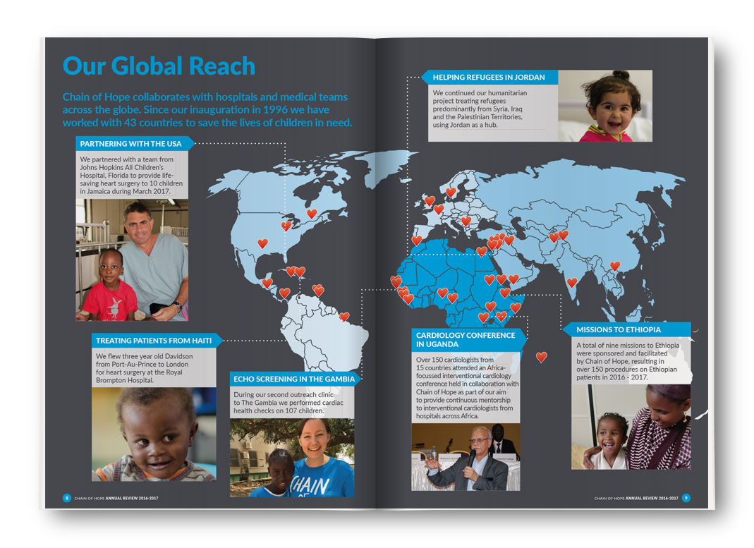 Chain of Hope: Our Global Reach