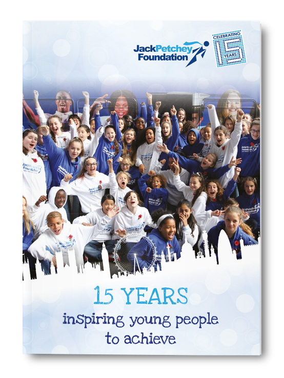 Jack Petchey 15 Years Anniversary Booklet