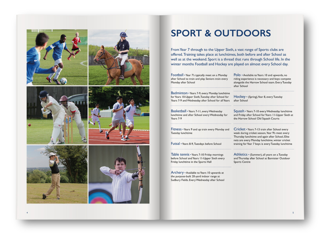 John Lyon School Sport & Outdoors