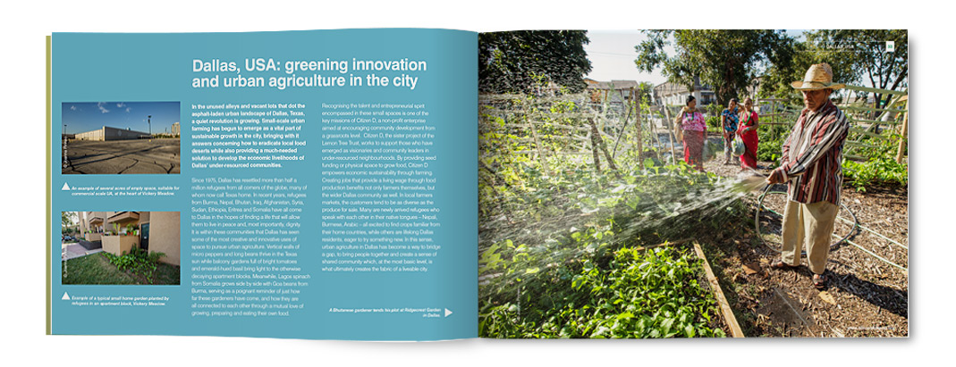 Lemon Tree Trust Transforming Land, Transforming Lives, Report