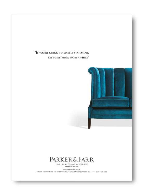 Parker and Farr Branding