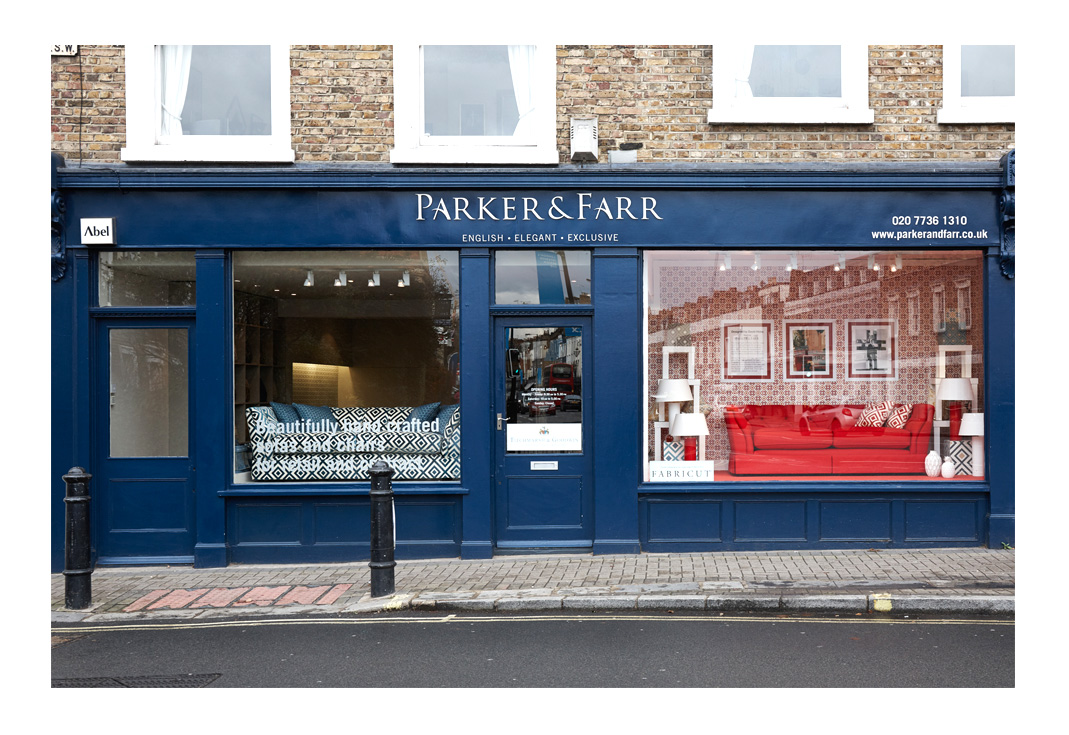 Parker and Farr London Store Front