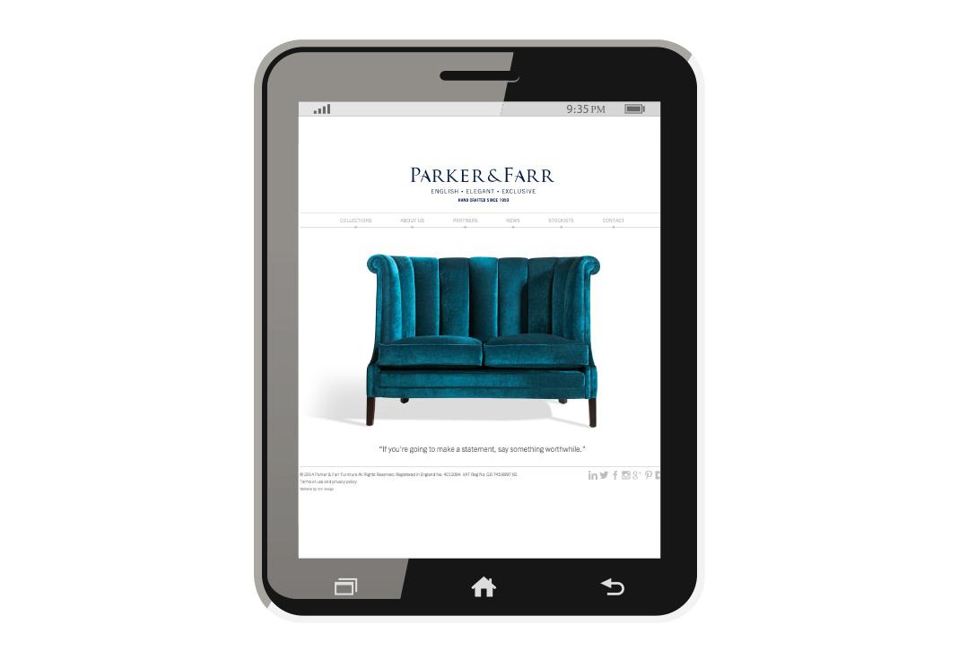Parker and Farr Website