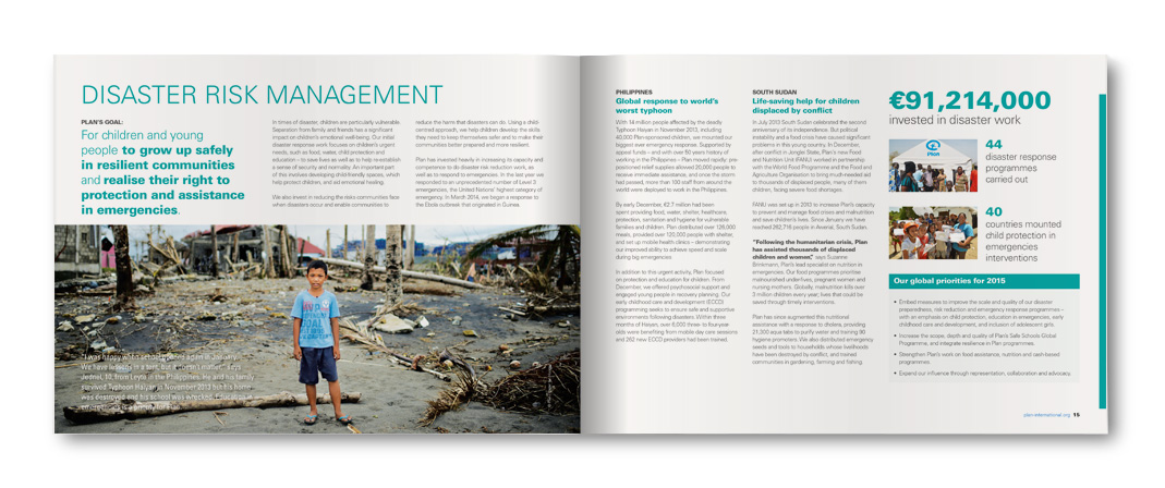 Plan International, Disaster Risk Management