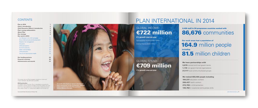 Plan International in 2014