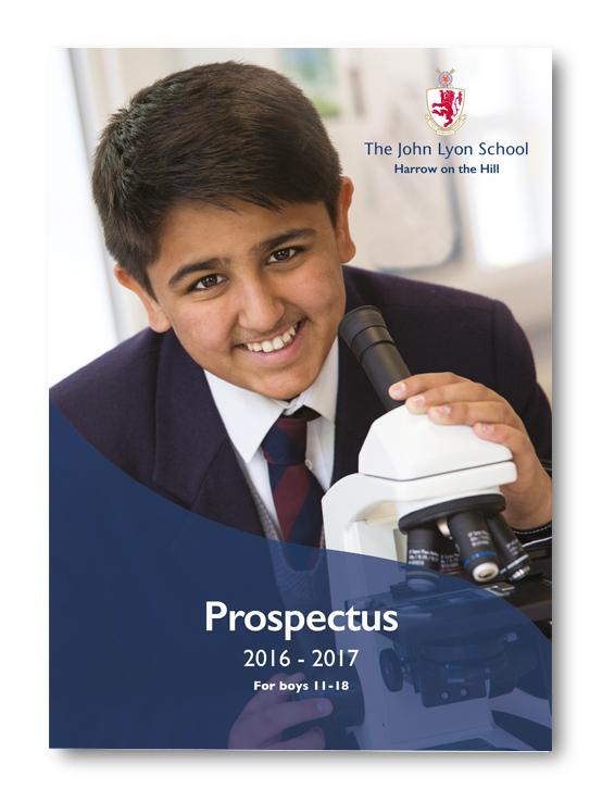 John Lyon School Prospectus and Brochures