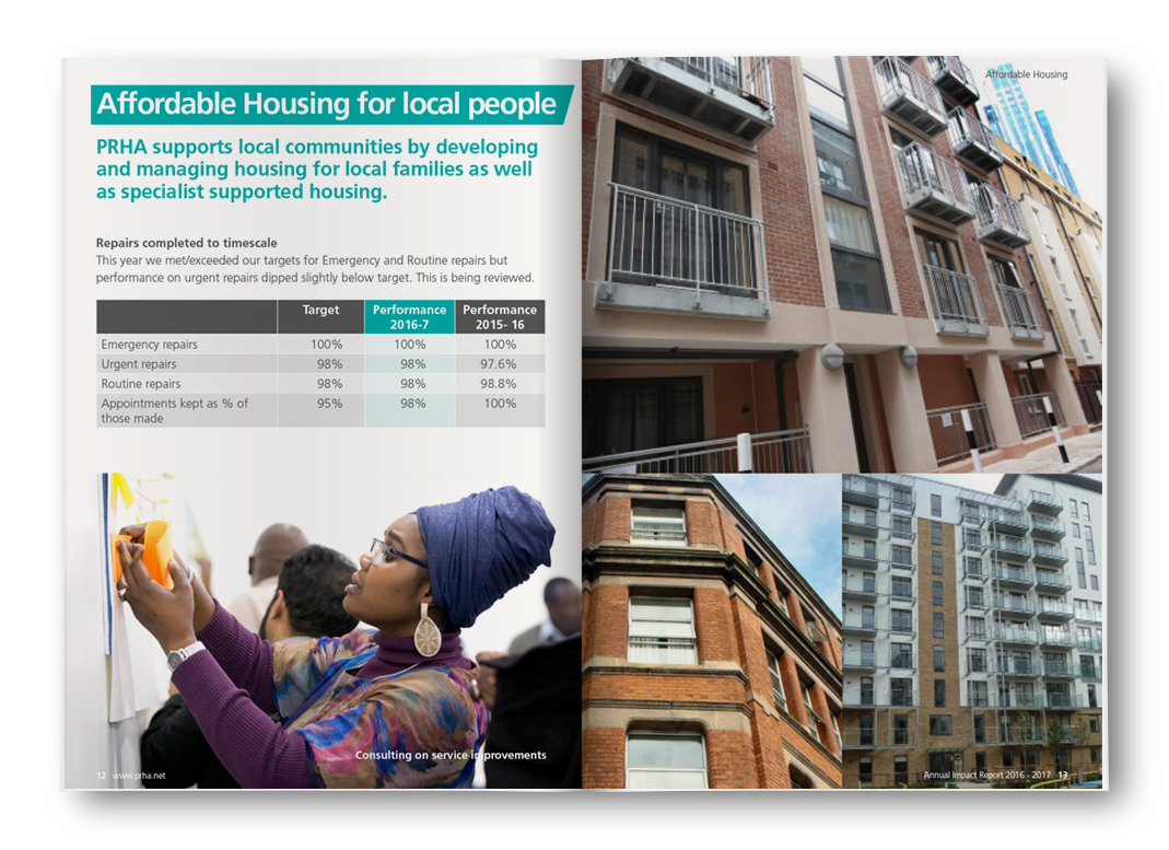 Affordable housing for local people