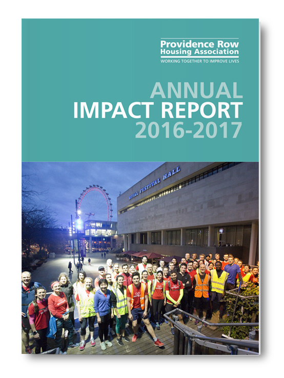 Providence Row Housing Association Impact Report