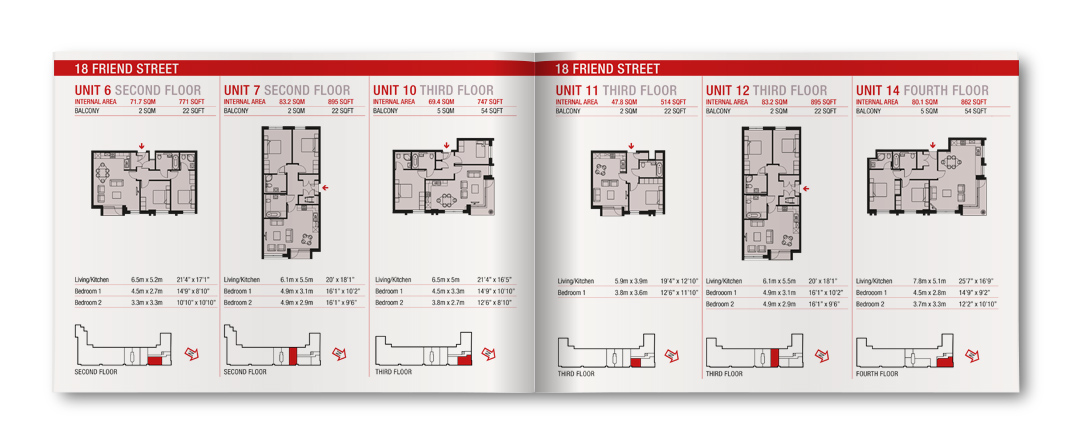 Thornsett Ermin Apartment Specifications