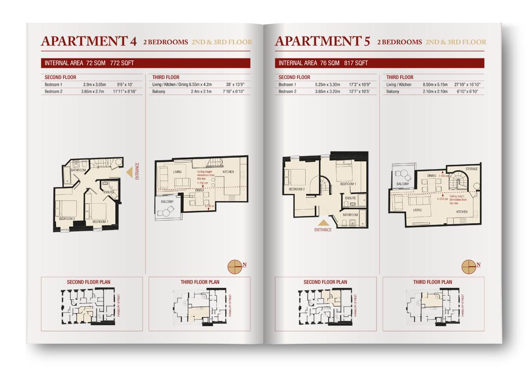 Thornsett Wesley Court, Apartments