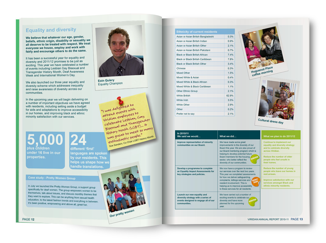 Annual Report Printed Brochure