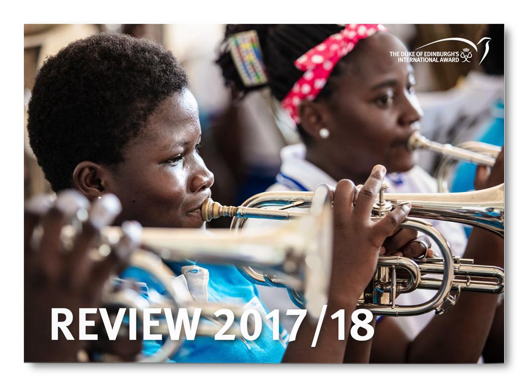 Duke of Edinburgh's International Award  Foundation Review 2017-18