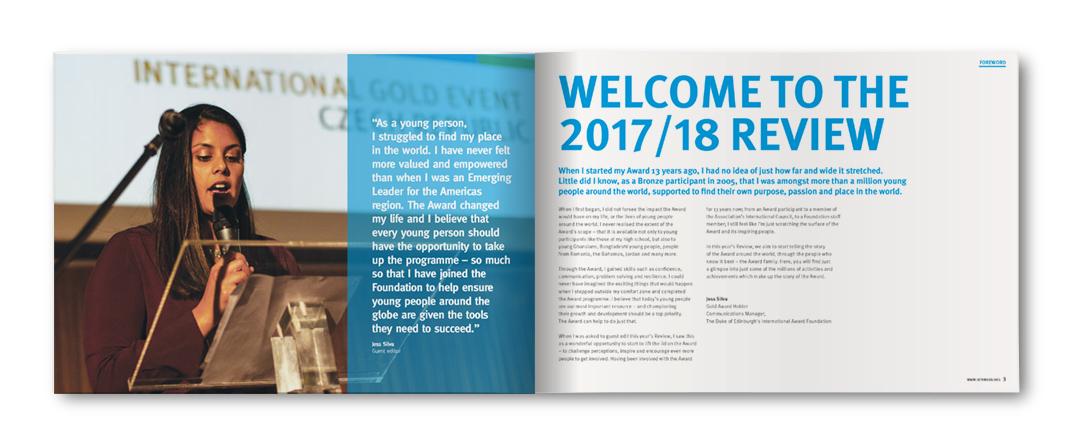 Duke of Edinburgh's International Award Review 2017-18