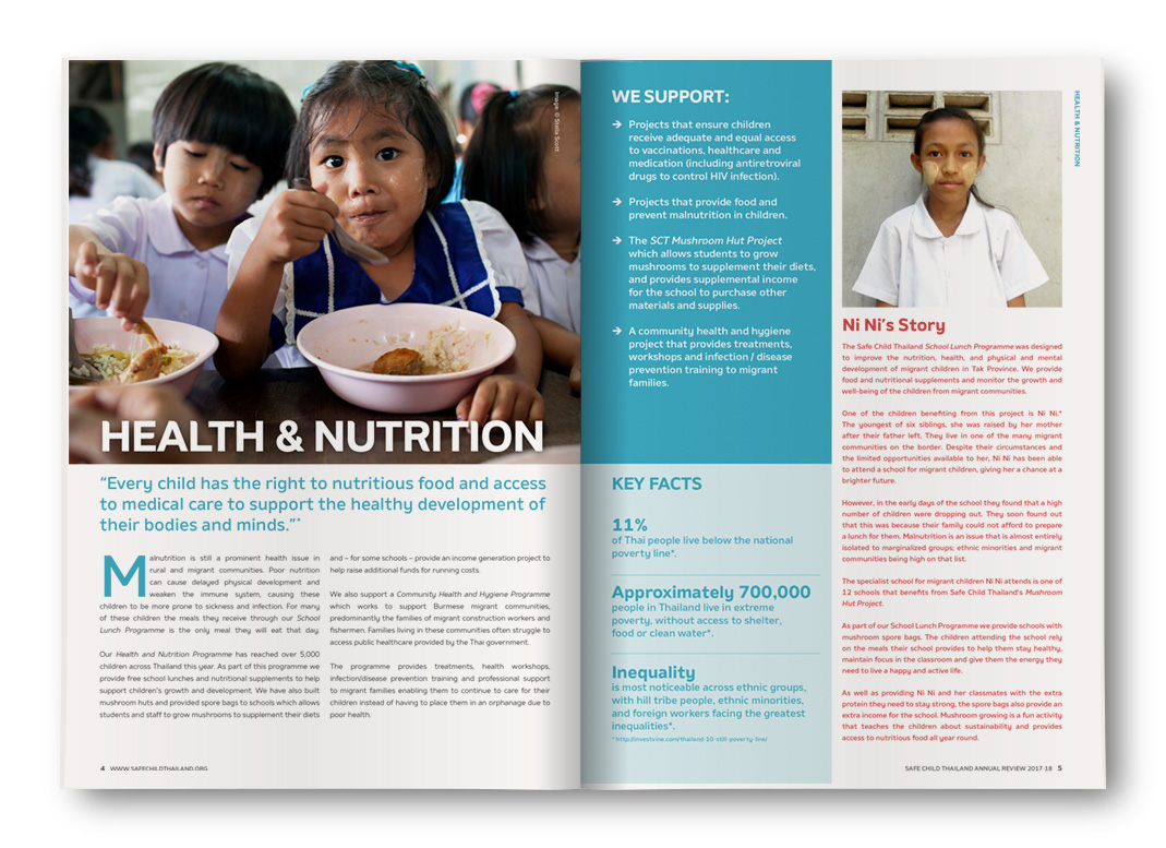 Safe Child Thailand Annual Review 2017-18