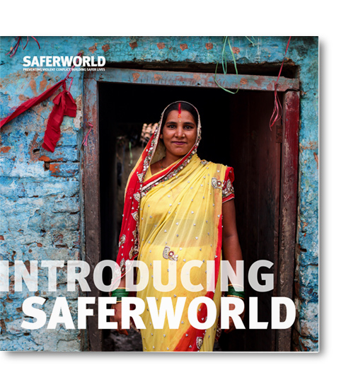 Saferworld Brochure