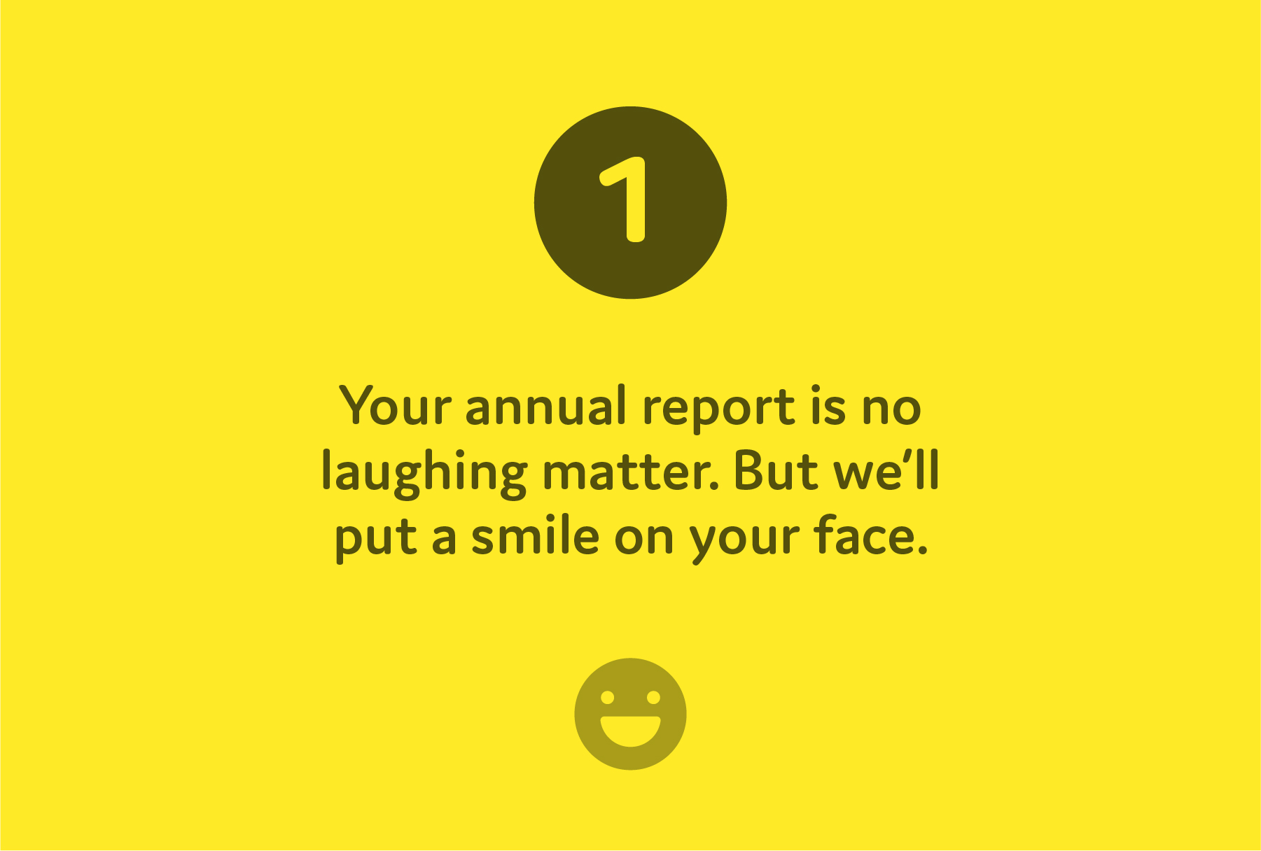The 6 simple steps to making a stand out annual report.