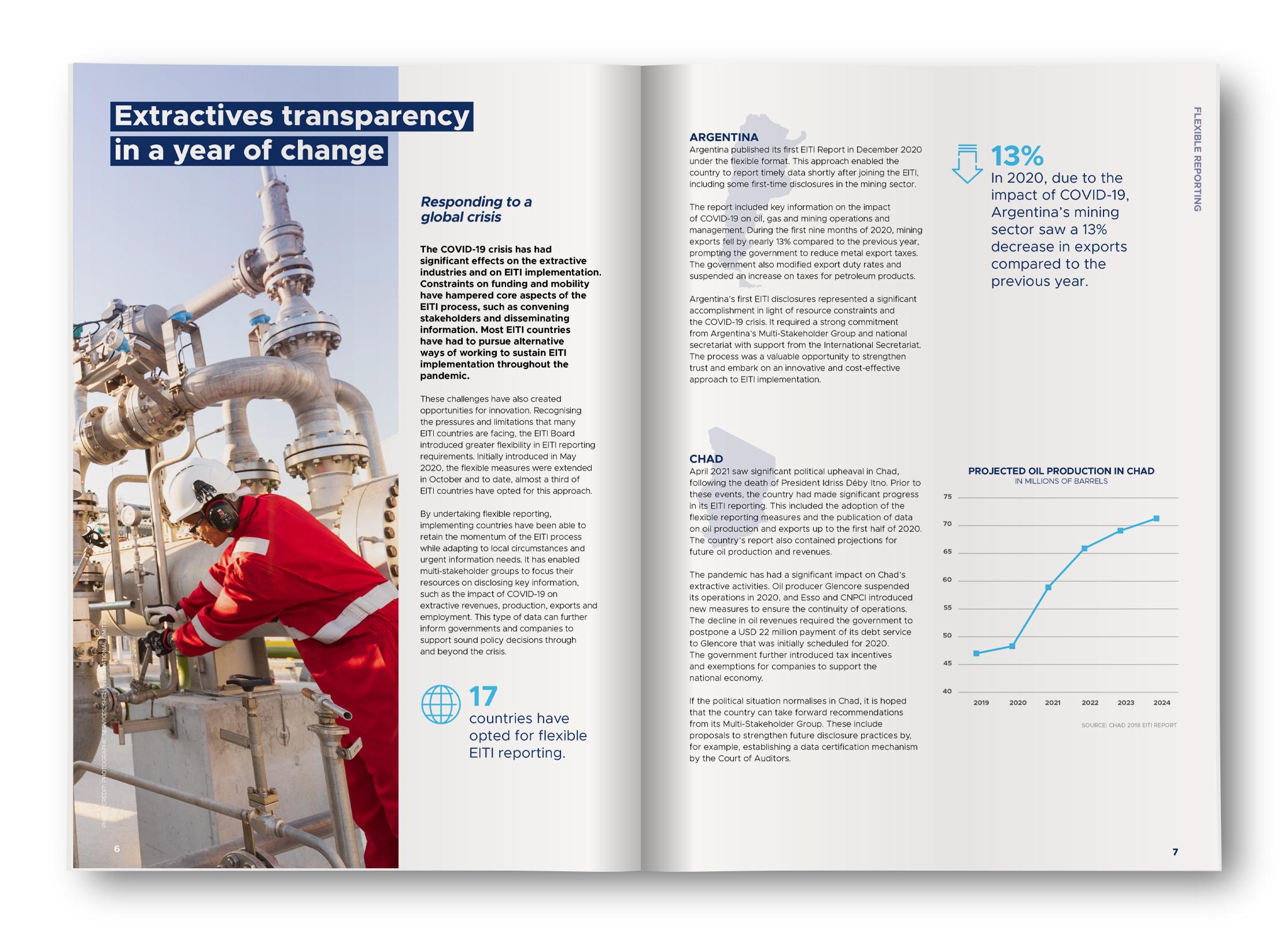 EITI 2021 Progress Report